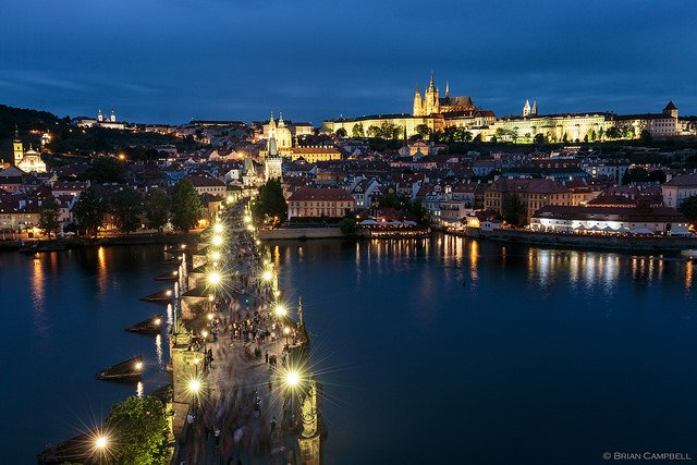 Charles Bridge photo by Brian Campbell - no caption