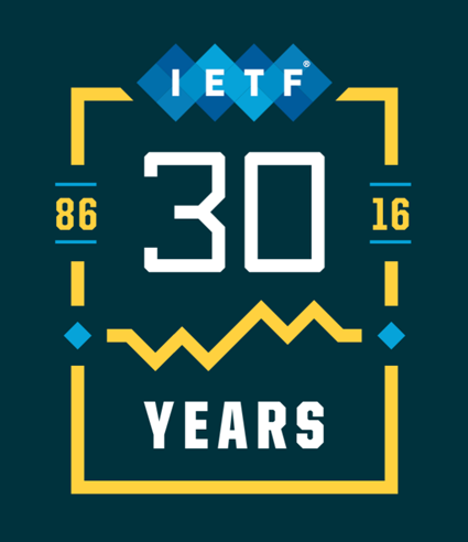 IETF @ 30 badge