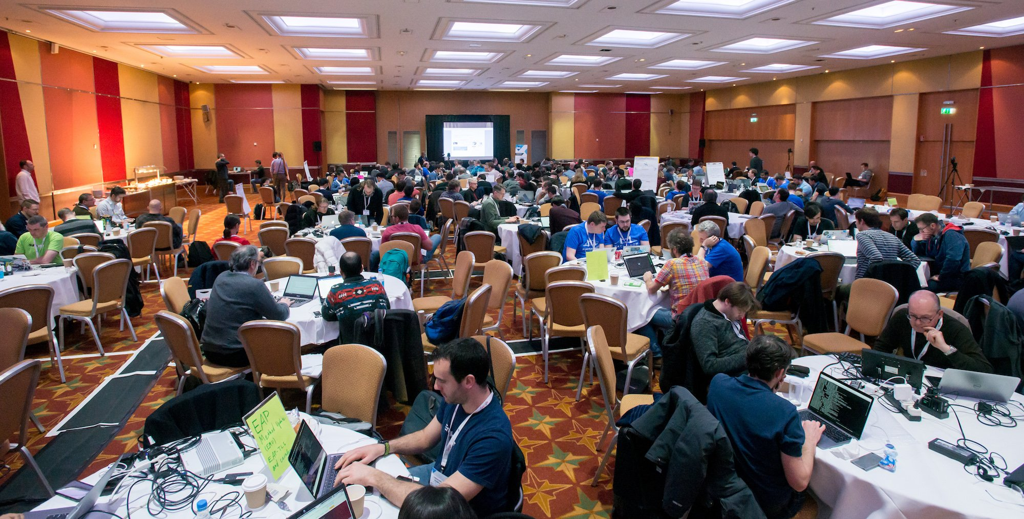 IETF Hackathon in London Whole Room