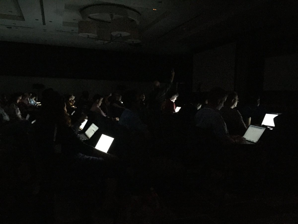 IETF in the dark