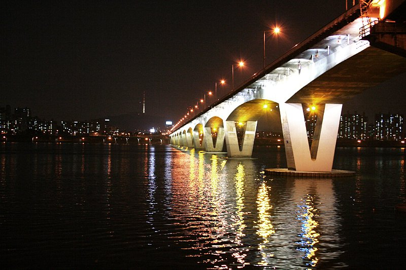 Yeoido Bridge Han River Seoul