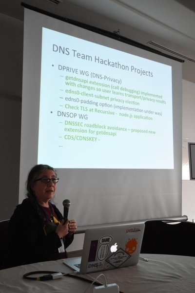 DNS at the IETF Hackathon in Yokohama