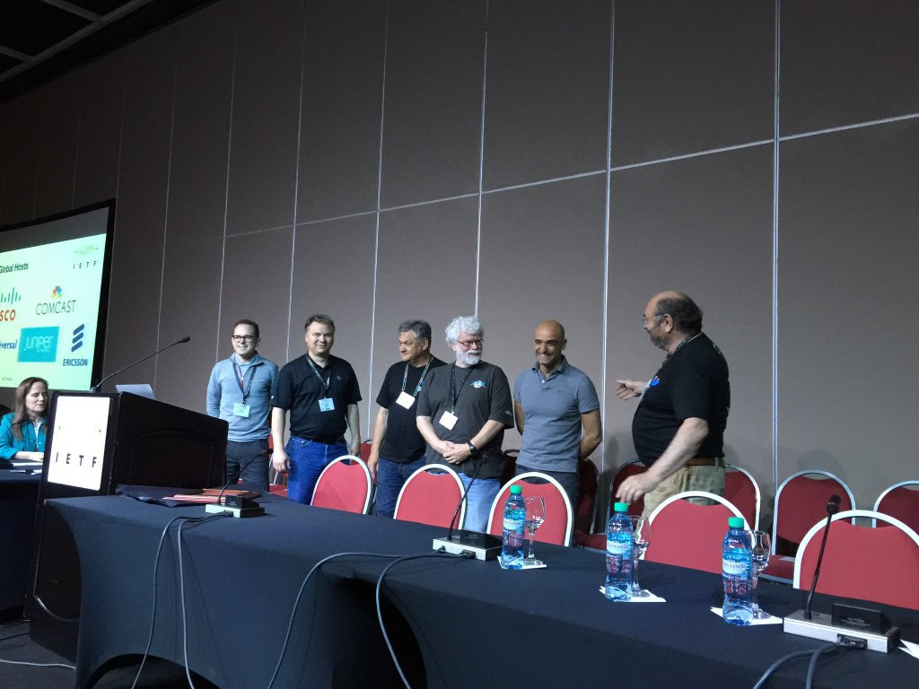 IETF Global Hosts