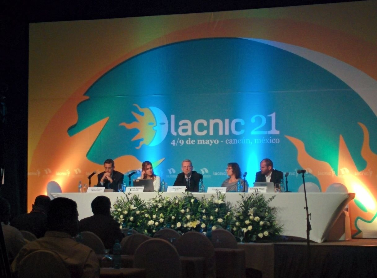 Panel discussion with IESG members at LACNIC